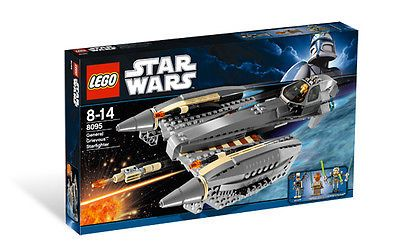 LEGO 8095 General Grievous' Starfighter - 2010 Star Wars - New In Box - Retired
