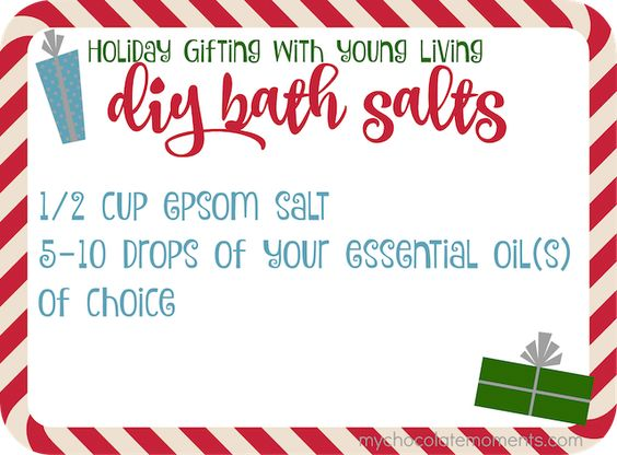 DIY bath salts recipe