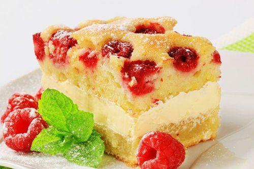 Postre Delicioso De Frambuesas Y Crema Pastelera Utimujer Pastelera Crema Pastelera Recetas De Tarta De Queso