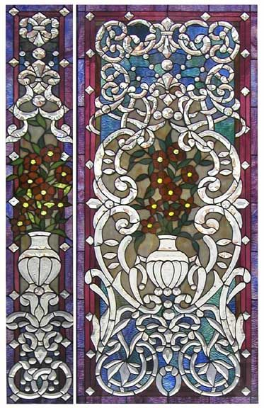 Stained Glass antique door