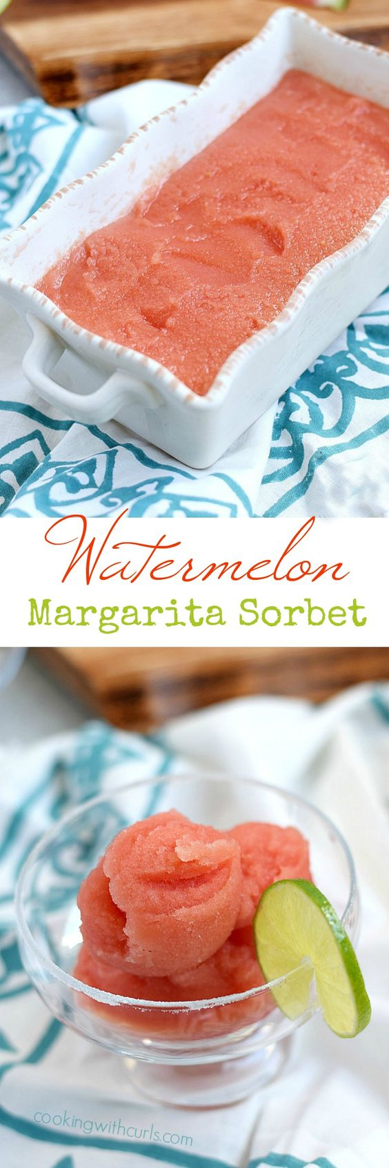 Celebrate summer with a cool and refreshing serving of Watermelon Margarita…