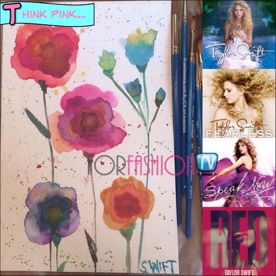 #TaylorSwift Painting Might Have Been Telling Us Something All This Time Cause' It Seems Like A '5th Album' Clue *gasp*
