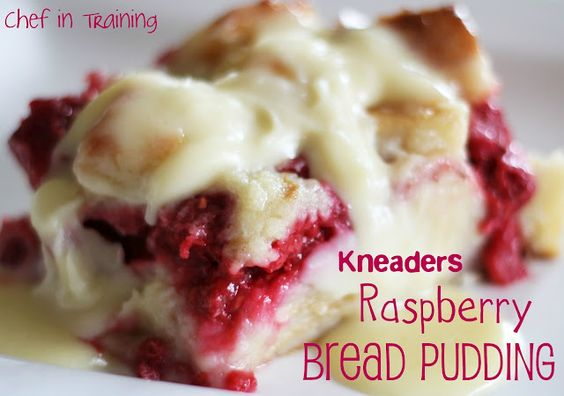 Kneaders Raspberry Bread Pudding!... Incredible!  Seriously melt-in-your-mouth-GOOD!