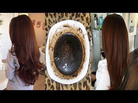لون رائع جداا شعر بني بمكونات طبيعيه وبدون اكسجين والنتيجه روووعه ومذهله Youtube Hair Beauty Beauty Remedies Hair Styles