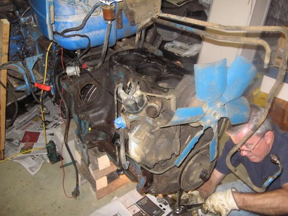Ford 4000 Tractor Engine Rebuild Golden Triangle Jeep Club Engine Rebuild Tractors Ford
