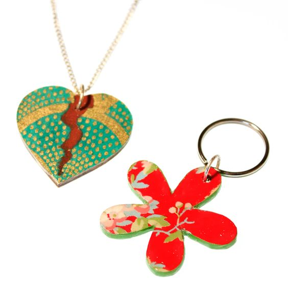 Paper Perfect: Decoupage Jewellery