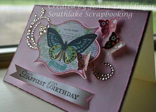 Southlake Scrapbooking Birthday Card