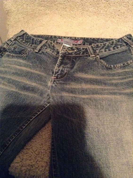 Silver Jeans 33X32 Boot Cut Western Glove Works #SilverJeans ...
