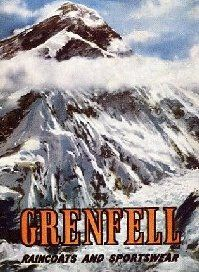 Grenfell poster Everest double Ventile jacket www.waysideflower.co.uk