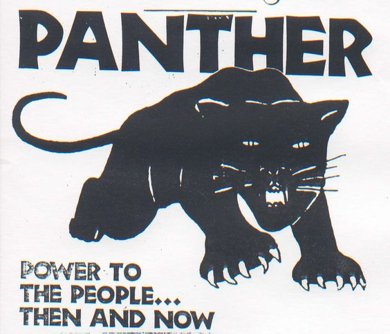 This is the logo for the Black Panther Party. | Bobby Seale ...