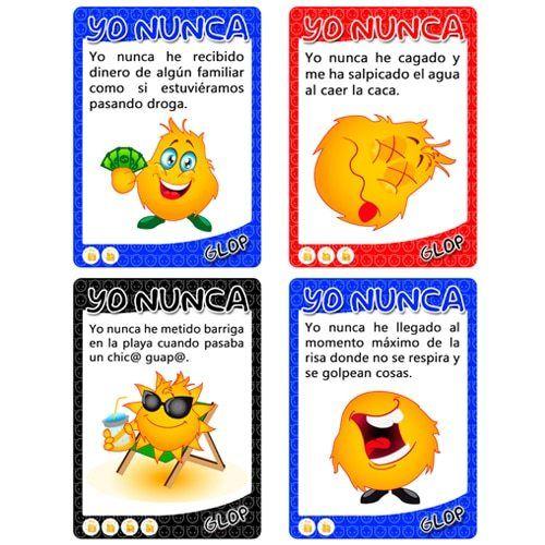Cartas Juego Para Beber Yonunca Juegos Para Beber Juego De Cartas Para Beber Juegos Para Beber Alcohol
