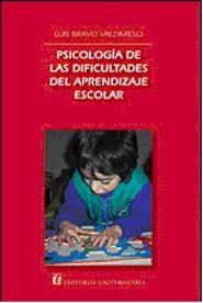 Psicología de las dificultades del aprendizaje escolar - Luis Bravo Valdivieso  Este libro tiene por objeto presentar algunos conceptos básicos sobre educación especial y diferencial para niños con dificultades en el aprendizaje escolar. La presente edición incluye un capítulo especial sobre los trastornos específicos del aprendizaje de la lectura.