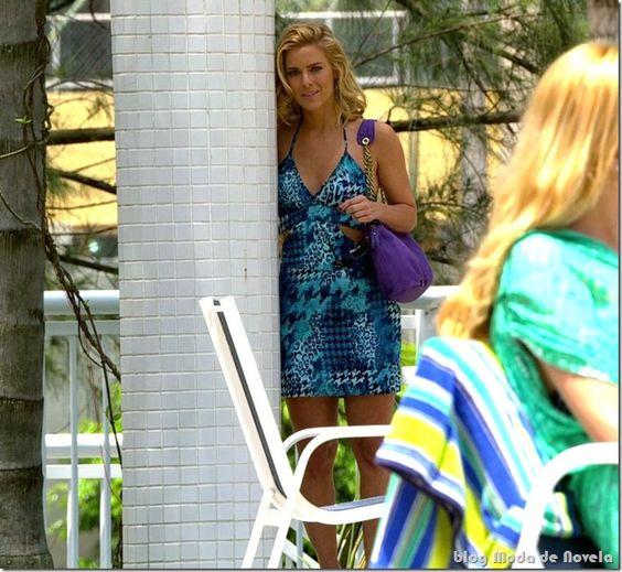 Mais alguns looks de Teodora, Tereza Cristina e Vanessa em novembro na novela Fina Estampa