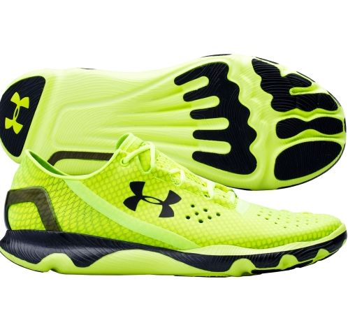 black and green under armour shoes