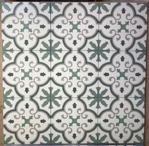 cement look porcelain tile