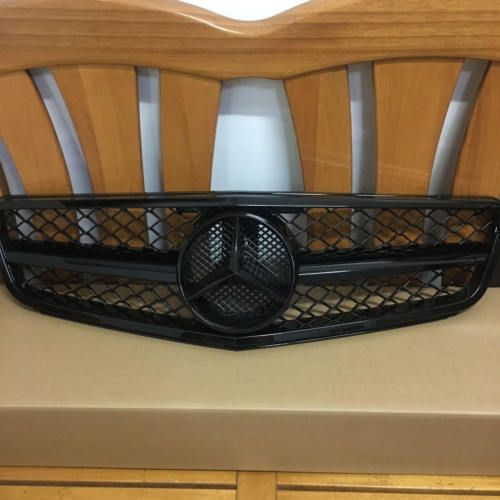 Mercedes Benz C Class 08 13 W204 Amg Style Grill Grille Black For