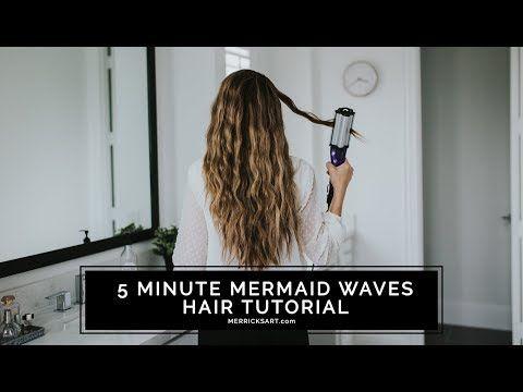 A Quick Beachy Wave Hair Tutorial With The Bed Head Artist Deep Waver Tool Merrick S Art Waves Hair Tutorial Beachy Waves Hair Hair Waves