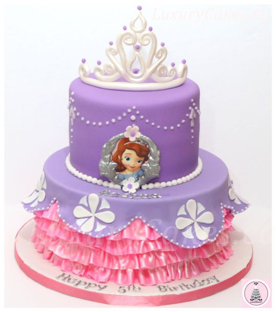Sofia The First Cake Princess Cakes Cookies Amp Cupcakes