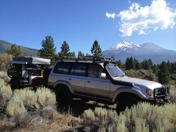 LX450 and the Horizon by Mt. Shasta. #LX450, #Adventuretrailer, #Horizon, #overlanding