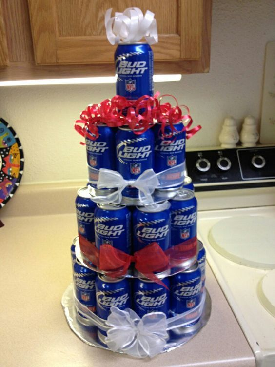 Bud Light Cake Made By Stacie B Gifts Straight From The