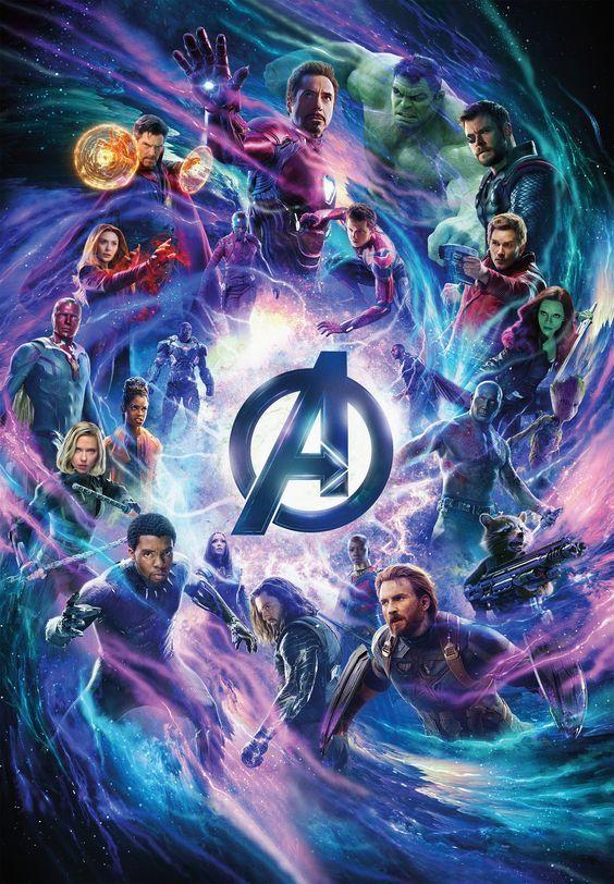 Verº Vengadores Endgame 2019 Pelicula Completa Online En Espanol Latino Subtitulado Gratis En Vingadores Personagens Marvel Avengers Herois Marvel