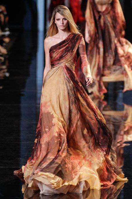 Elie Saab ;;;; Might have worked for Katniss