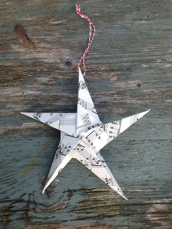 Another of my own origami decorations!
