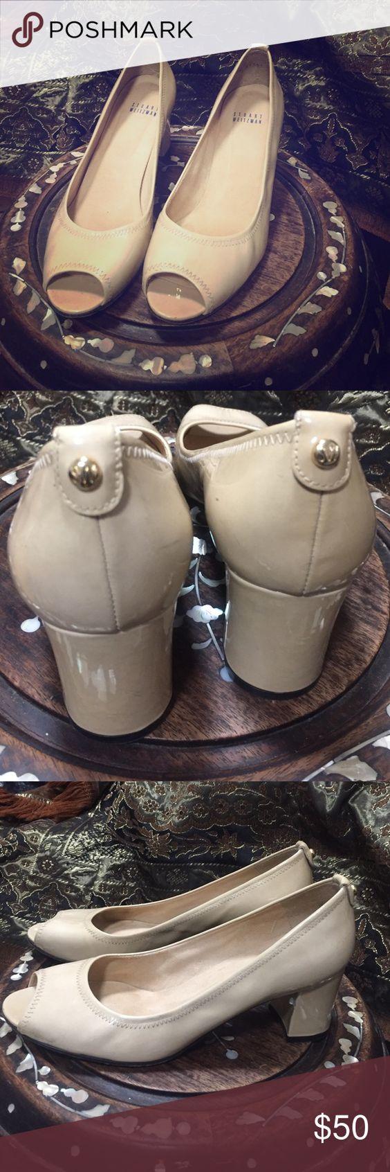 Stuart Weitzman Cutest peep toe Stuart Weitzman Shoes Heels