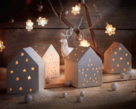 D corations de no l cyrillus activit s faire avec les kids pinterest - Decoration de noel maison ...