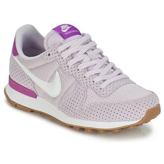69056809b14d9 ... shoes maroon Nike INTERNATIONALIST W Gris   Rose pas cher prix promo  Baskets Femme Spartoo 89.99 ...