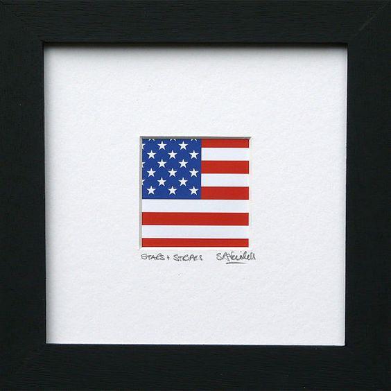 stripes on us flag