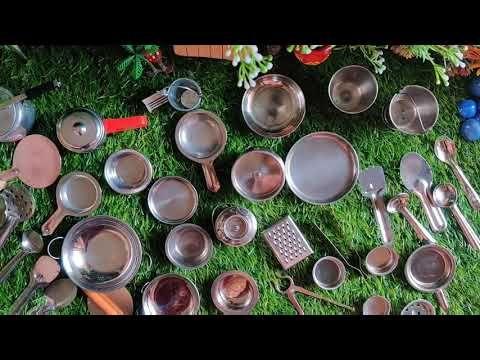 Miniature Kitchen Set Steel Youtube Miniatures Sets