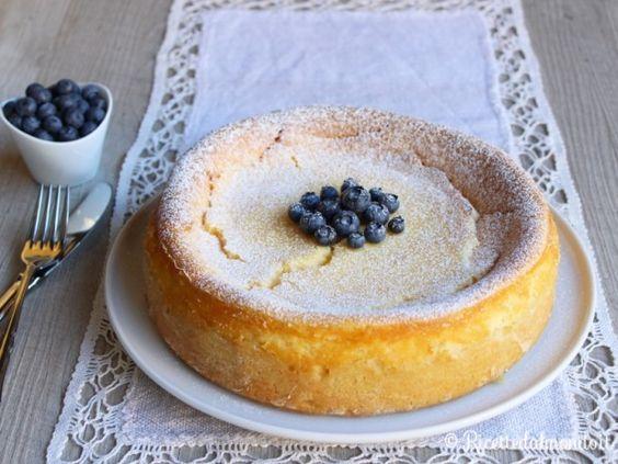 Käsekuchen La torta al formaggio tedesca! Un cheesecake al forno delizioso!