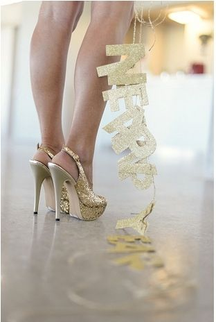 gold glitter wedding shoes sparkle ❤️