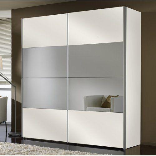 Four You 2 Door Sliding Wardrobe Express Möbel Colour Polar White Interior Fittings Premi Sliding Wardrobe Designs Sliding Wardrobe Wardrobe Laminate Design