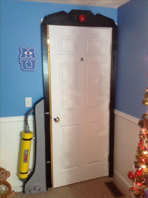 Monsters Inc. Monsters University bedroom! It is honest!