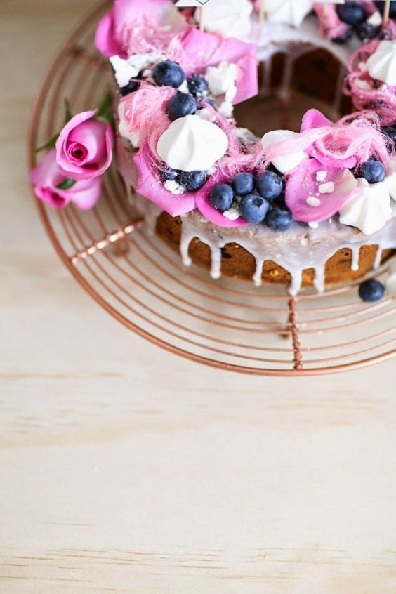 Life is Butterful: Coconut and Blueberry Bundt Cake