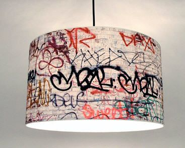 graffiti furniture | Graffiti Lighting | Modern Urban Living