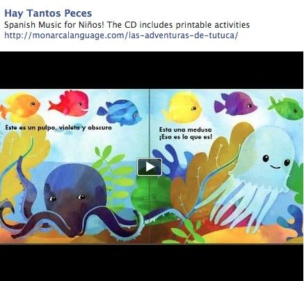 hay tantos peces spanish music for ni os the cd includes printable activities spanish. Black Bedroom Furniture Sets. Home Design Ideas