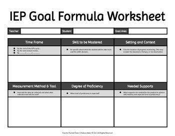 writing service plan goals