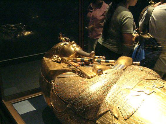 黃金棺 - 開羅博物館