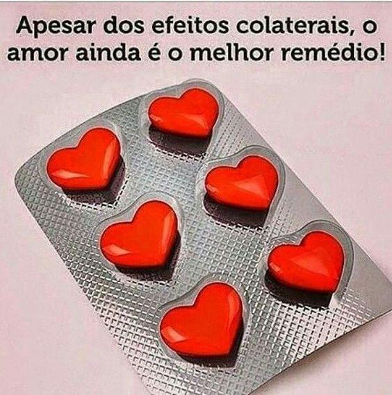 O melhor remedio é amar