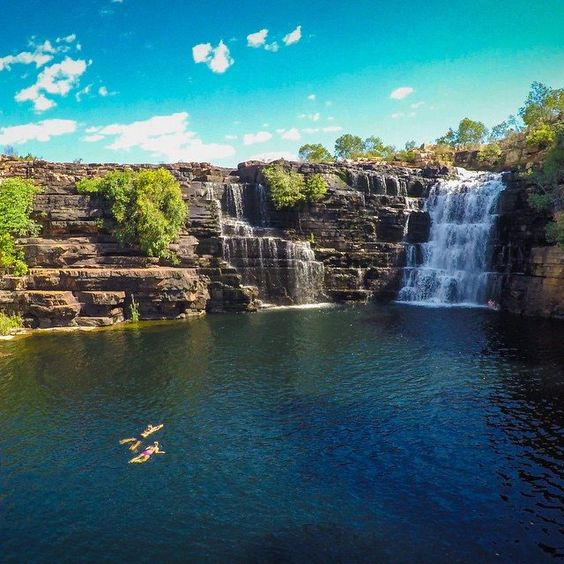Swimming At A Beautiful Pool In The Kimberleys Western Australia Cool Landscapes Pinterest