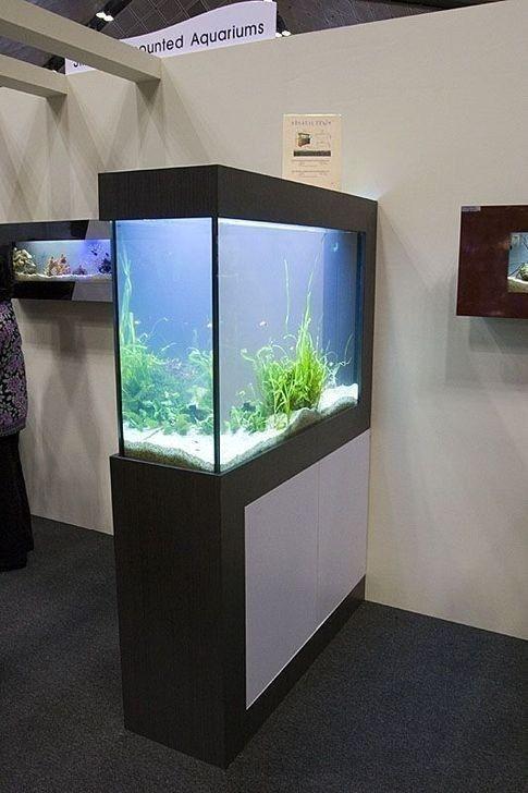 52 Modern Aquarium Partition Ideas For Living Room Ideahomy