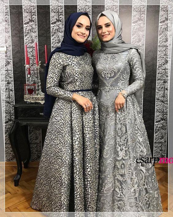 Ozel Gunler Icin Gri Sik Abiye Modelleri Payet Elbise Elbise Elbiseler