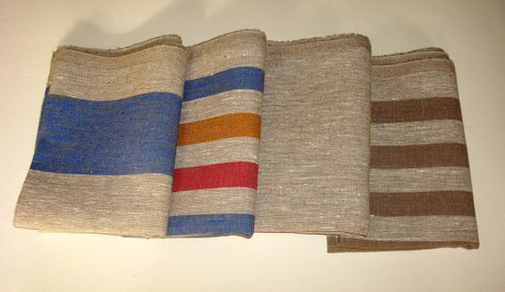 Linen  towel  bath  linen massage towel SPA by LinenWoolRainbow