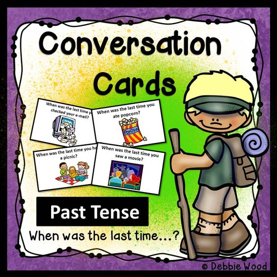 Engaging activity to help ESL students practice speaking in the past tense.