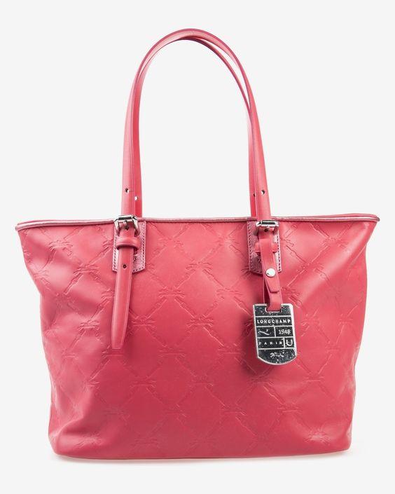Cartera roja Longchamp