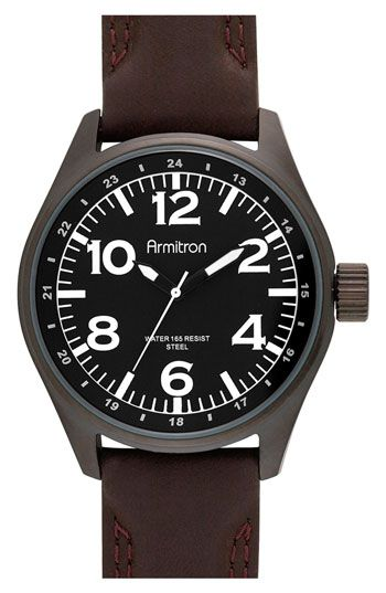 """Been looking for this Armitron Exclusive for Nordstrom.  It's like a $65 Bell & Ross. LOL  Nordstrom says it's """"unavailable."""" Can't find it anywhere..."""