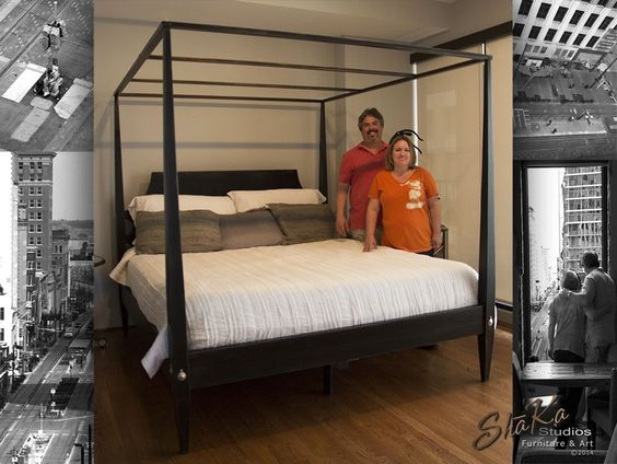 Custom Canopy Bed custom made houston four post canopy bed | a | pinterest | beds